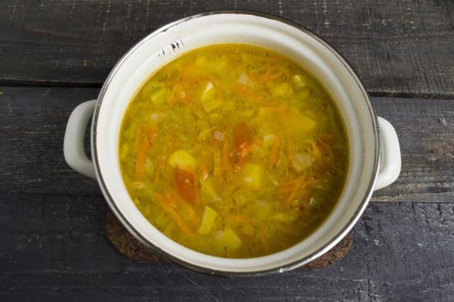 Ставим вариться суп
