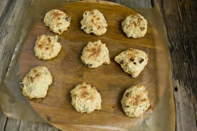 Готовим домашние печенья в духовке 18 минут при 180 градусах