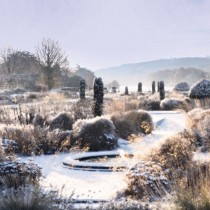 Сады Трентэм декоративны до глубокой зимы, когда проводится их обрезка.