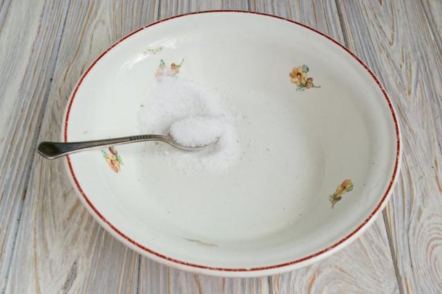 Берем соли - в меру, у каждого она своя
