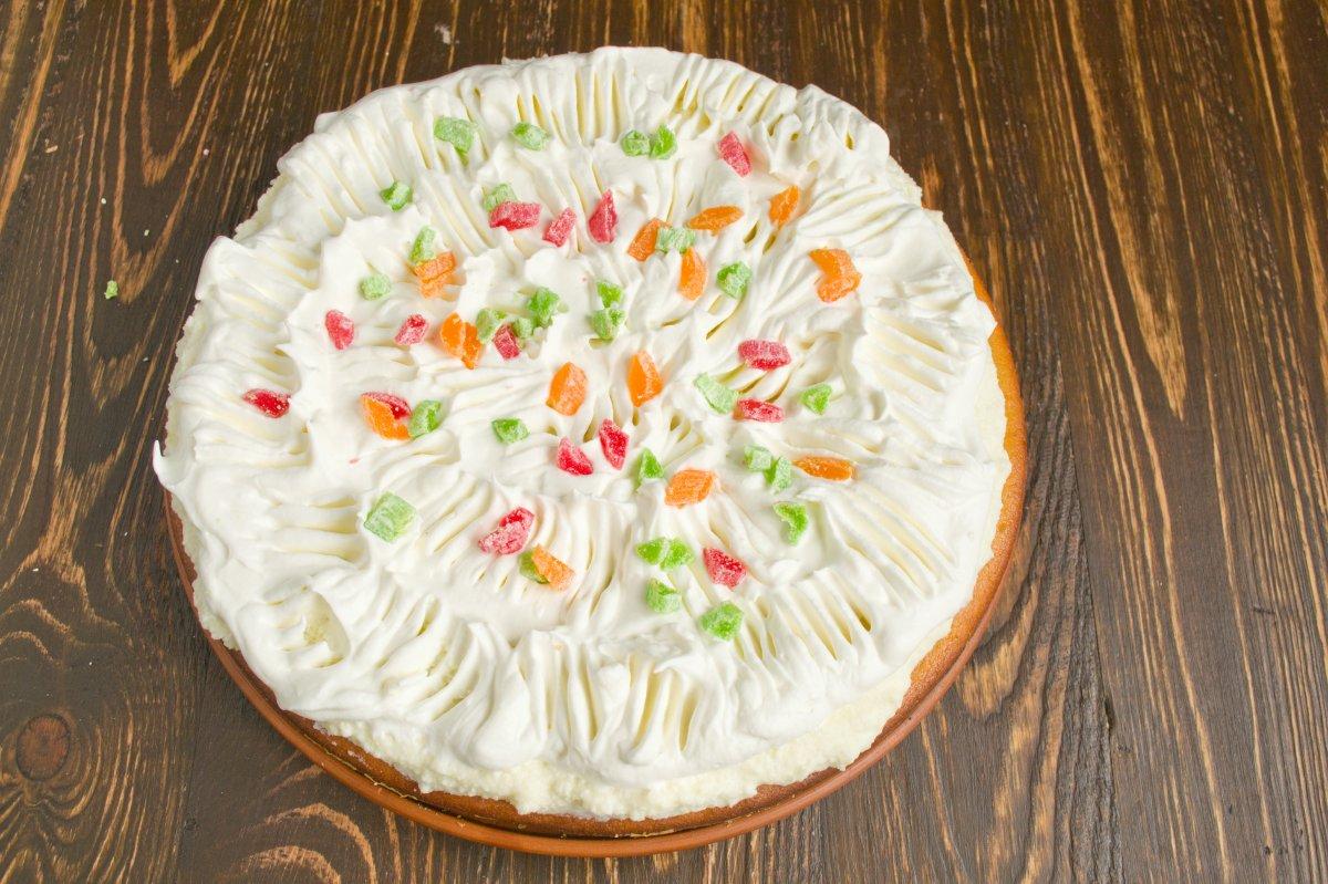 того, украсить торт цукатами фото лицо постоянно мелькает