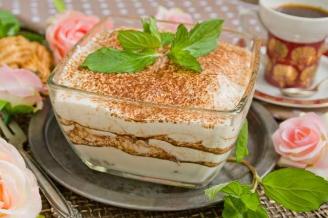 Домашний рецепт десерта тирамису