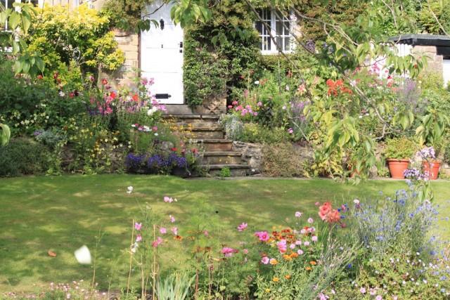 В коттеджных садах используют простые и хорошо адаптированные к местному климату культуры из числа традиционных
