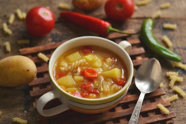 Суп с макаронами и овощами — когда быстро, полезно и вкусно