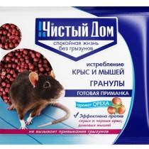 Средство от крыс и мышей – Гранулы с запахом ореха