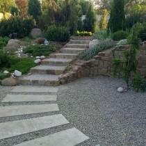 Садовые ступени