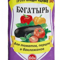"""Грунт для томатов, перцев и баклажанов """"Богатырь"""""""