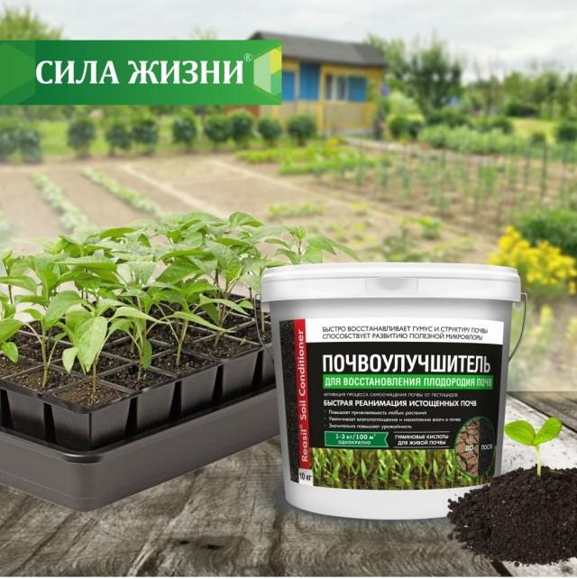 Почвоулучшитель «Реасил®» для восстановления плодородия почв