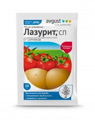 «Лазурита» – незаменимое средство в борьбе с сорняками на картофеле