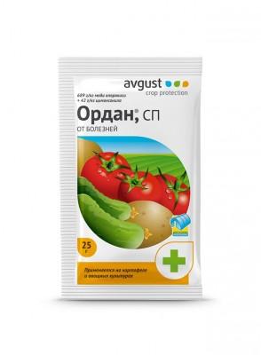 «Ордан» — эффективный фунгицид для профилактики и лечения