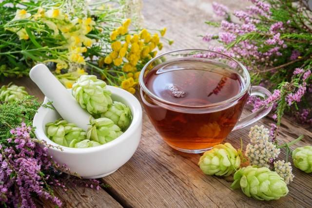 Травяные чаи с хмелем помогают бороться с бессонницей, снять напряжение и усталость