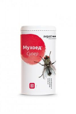 «Мухоед-Cупер» - надёжное средство, чтобы избавиться от мух