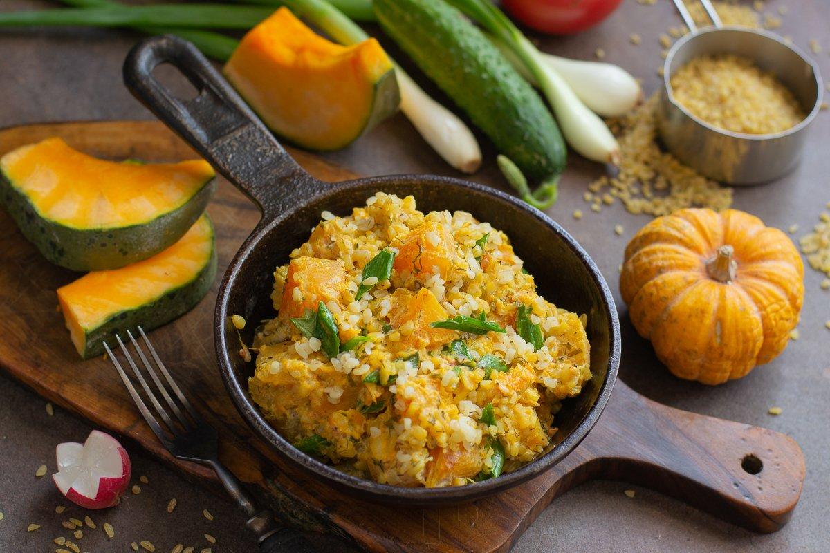 Рецепты блюд для тыквенной диеты