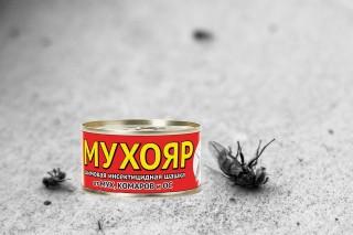Дымовая шашка от мух Мухояр