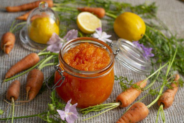 Варенье из моркови с лимоном — вкусное и полезное