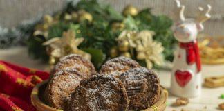 Праздничные маффины с пеканом и тростниковым сахаром