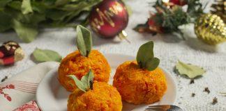 Сырная закуска «Мандаринки» на праздничный стол