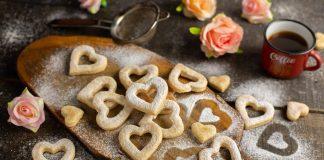 Вкусное имбирное печенье-валентинки ко Дню влюблённых