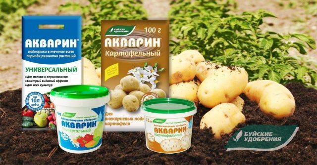 Набор удобрений для подкормки картофеля