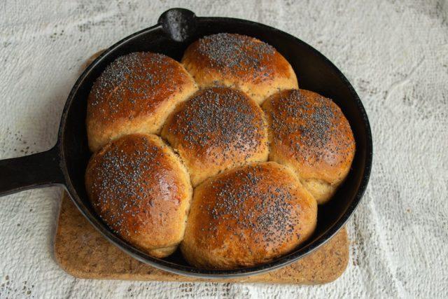 Печём пасхальный хлеб 20 минут