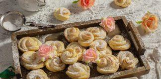 Нежное творожное печенье «Розочки»Нежное творожное печенье «Розочки»