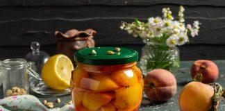 Персики в лимонном сиропе на зиму — быстро и вкусно