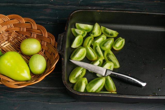 Овощная икра из зелёных помидоров на зиму — быстро и без хлопот