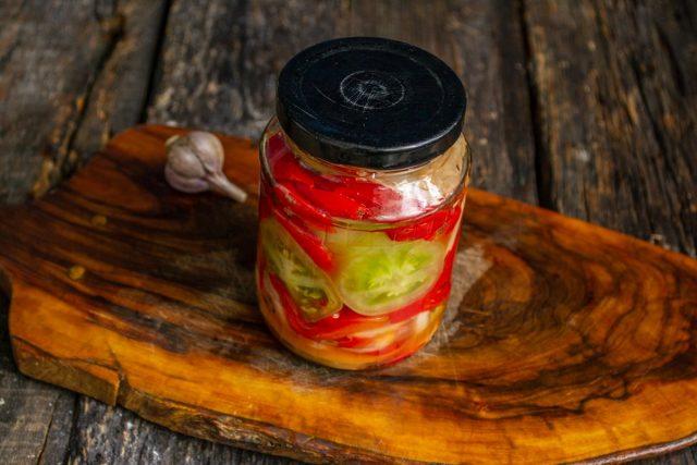Овощной салат «Азербайджан» на зиму — консервирование для лентяев