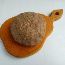 Тесто, оставленное на 20 минут под пленкой