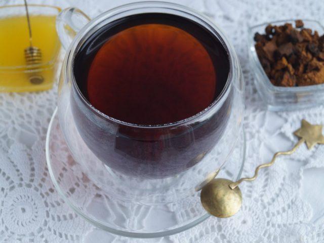 Готовый чай из чаги