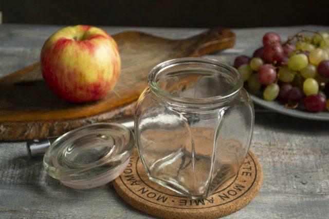 Густое желе из винограда с яблоками на зиму