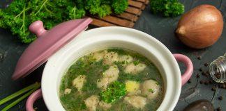 Картофельный суп с фасолью и мясом — густой и вкусный