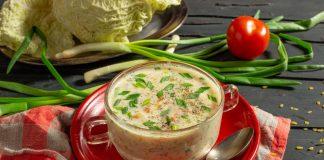 Суп с савойской капустой и ветчиной — просто и вкусно