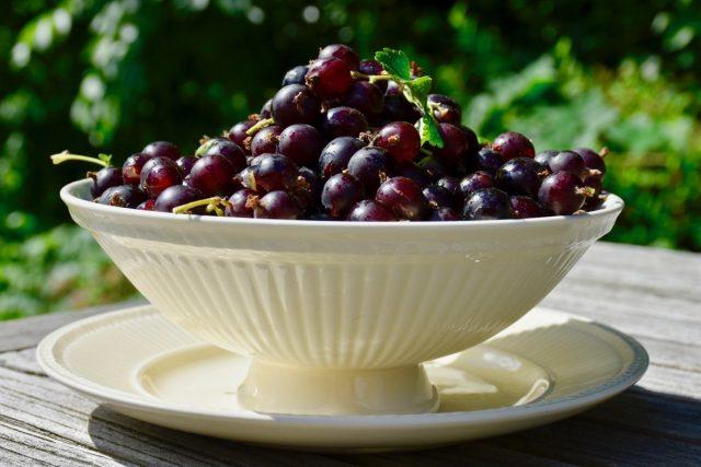 Полностью вызревшие плоды йошты совершенно не кислые, а очень приятного сладкого и при этом не приторного вкуса