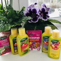 Удобрения серии «Цветочный рай» – «Цветик» и «Акварин Цветочный»