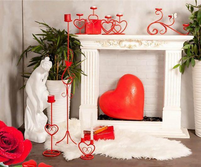 Романтичная атмосфера ко Дню влюблённых