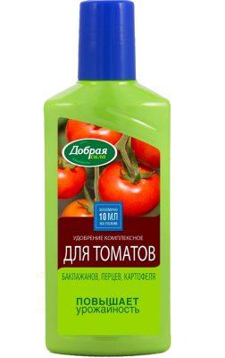 Удобрение для томатов, баклажанов, перцев и картофеля «Добрая сила»