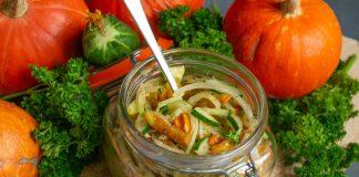 Полезный салат из зелёной редьки с запеченной тыквой — едим и худеем