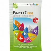 гумат +7 йод - удобрение на основе гуминовых кислот для предпосевной обработки и подкормки растений.
