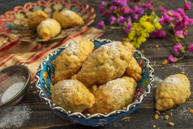 Турецкое печенье «Керебич» с грецкими орехами
