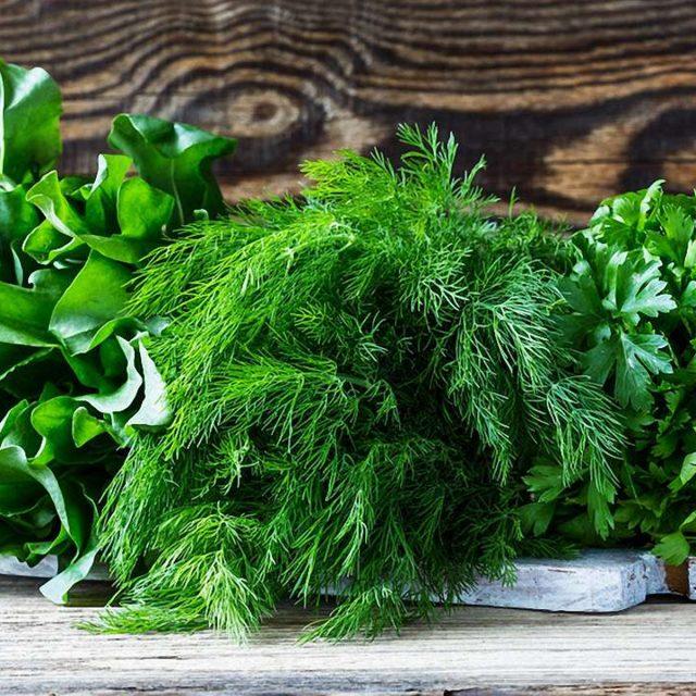 Зелень для людей с диабетом