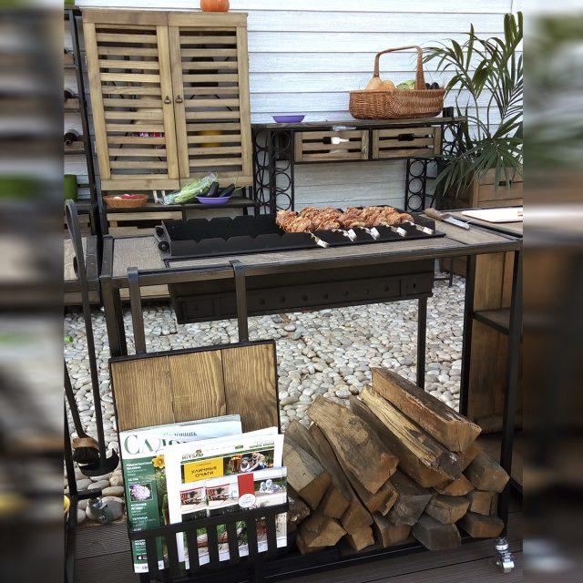 Летняя кухня на даче — фото
