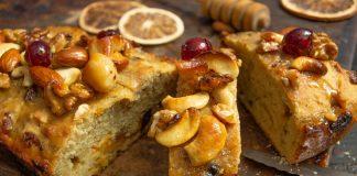 Фруктовый хлеб с орехами