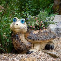 Кашпо в виде большой черепахи
