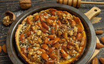 Песочная галета с орехами — вкусно и просто