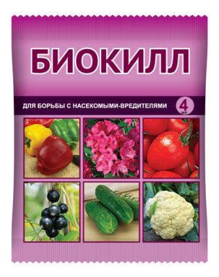Препарат для защиты от вредителей биологического происхождения «Биокилл»