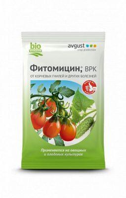 Биологический препарат для борьбы с болезнями «Фитомицин»