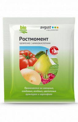 Органическое удобрение для подкормки культур «Ростмомент»