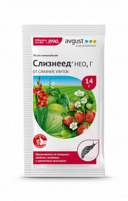 Препарат для обработки растений от улиток и слизней «Слизнеед Нео»