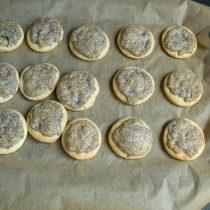 Выпекаем печенье 15 минут до золотистого цвета